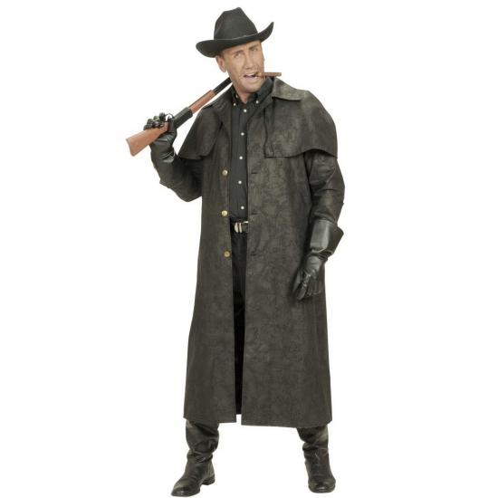 Lange Zwarte Winterjas Heren.Lange Heren Jas Voor Cowboys Kostuum Bij Kostuum Voordeel Altijd Het